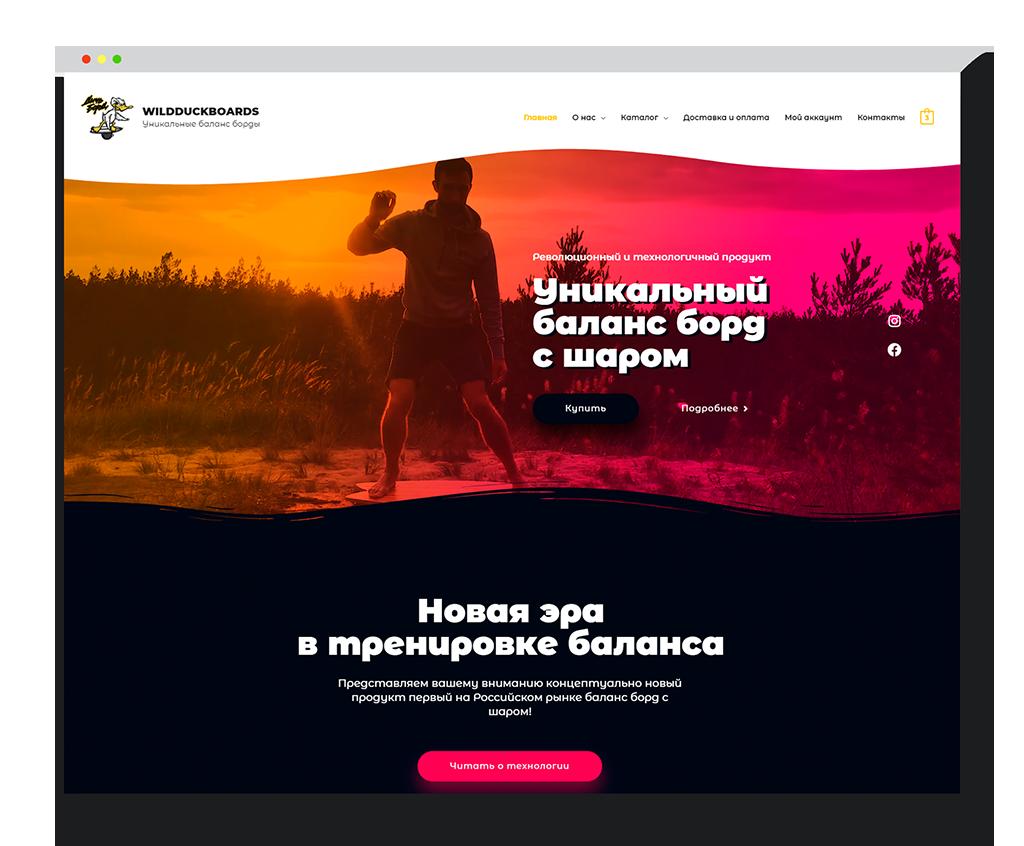 Создание-интернет-магазина-Wildduckboards-в-студии-Андрея-Мельникова